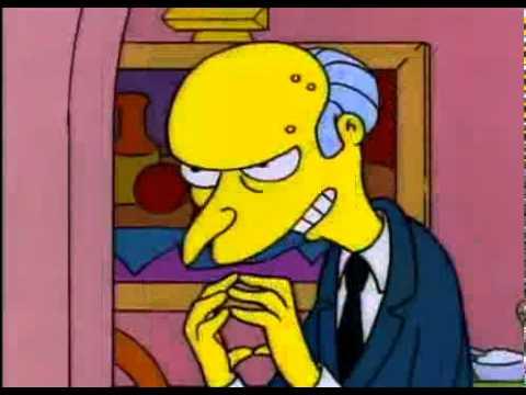 Mr Burns Excellent
