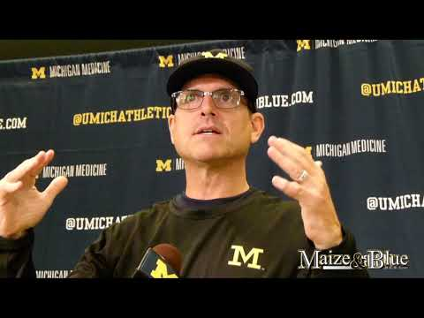 Jim Harbaugh reflects on Florida game heading into week two