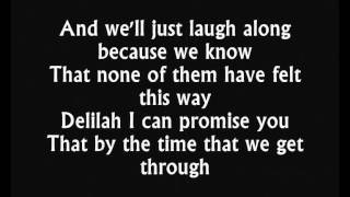 Hey there Delilah - Plain White T's (Lyrics / Paroles)
