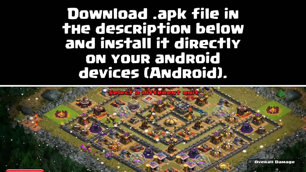 download clash of clans old version apk