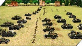 АРМИЯ США НЕ СДАЕТСЯ - Игра WW2 Battle Simulator # 7