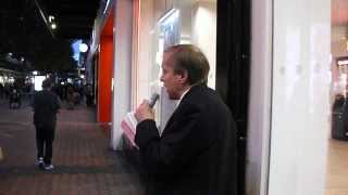 Night Street Preaching in Birmingham 2 ... Hebrews 10:38