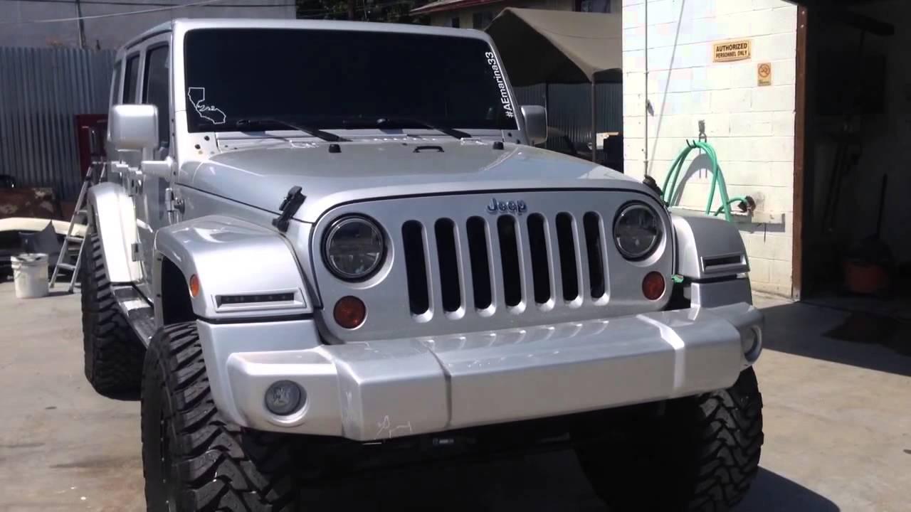 Jeep Wrangler Mud Flaps