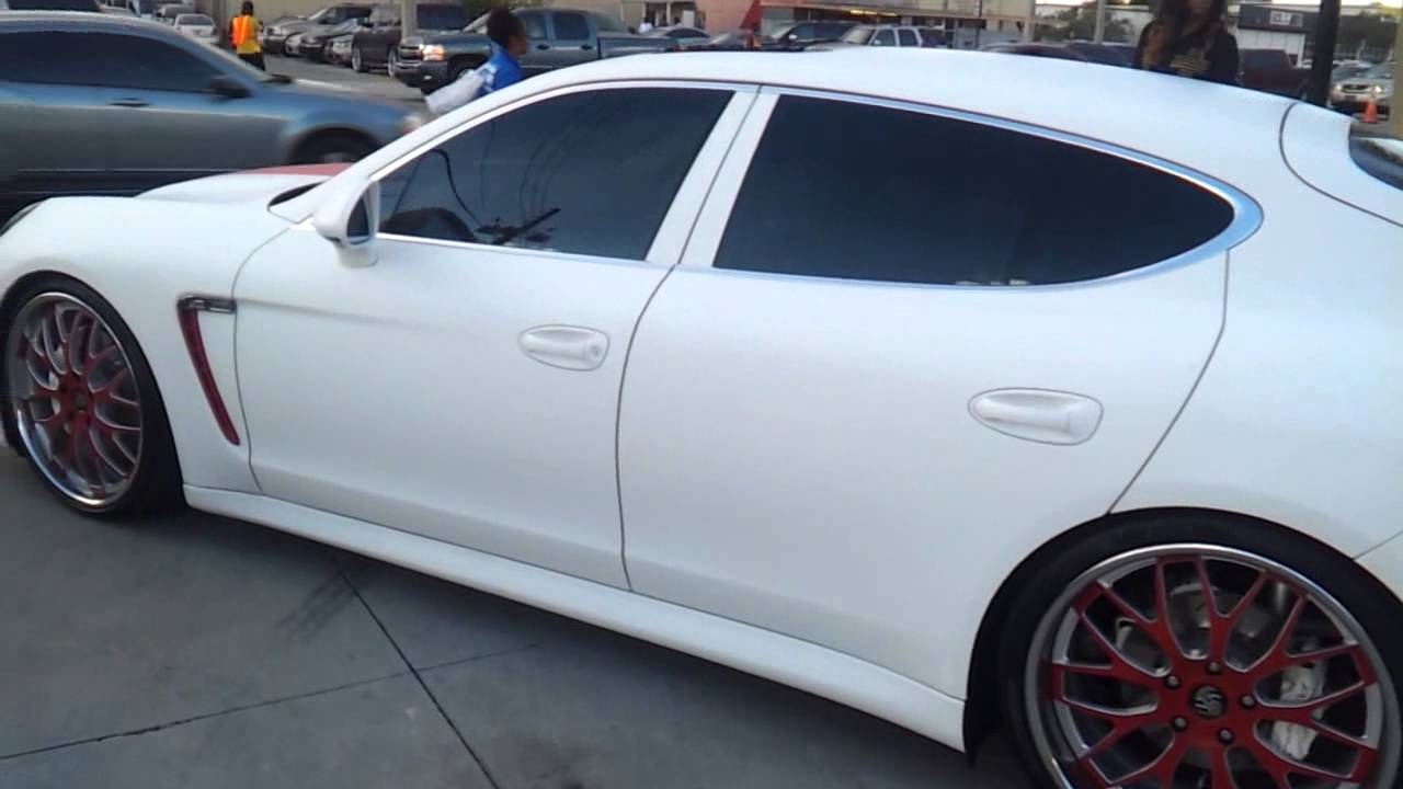 matte white porsche panamera s youtube