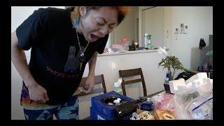 【なかよし】おうち で ポップコーンやさん に なったよ!!