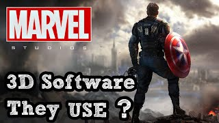 What 3D Software Does Marvel use