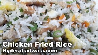 Chicken Fried Rice Recipe Video  Learn How to Make Chicken Fried Rice at Home  Easy & Simple