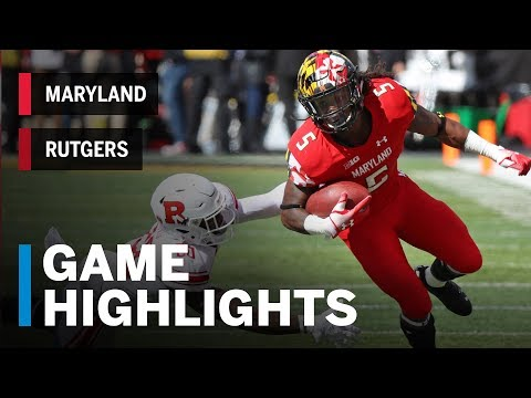 Highlights: Rutgers Scarlet Knights vs. Maryland Terrapins | Big Ten Football