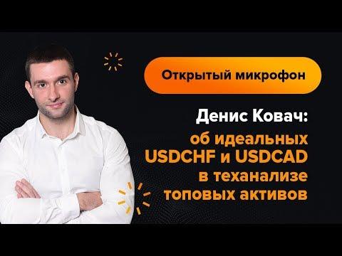 Денис Ковач — об идеальных USDCHF и USDCAD в теханализе топовых активов | AMarkets