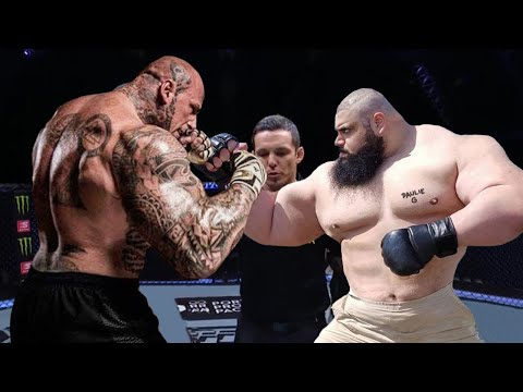 Martyn Ford Versus The Iranian Hulk BATTLE OF TITANS!!! MEGA BATTLE!!!