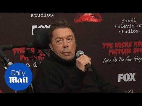 Wheelchair bound Tim Curry attend 'Rocky Horror Picture ' red carpet  Daily Mail