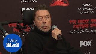 Wheel-chair bound Tim Curry attend 'Rocky Horror Picture Show' red carpet - Daily Mail
