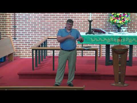 Pisgah Sunday Sermon - 9/12/2021