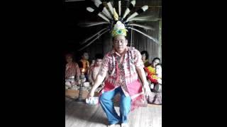 Traditional Ngajat Iban.