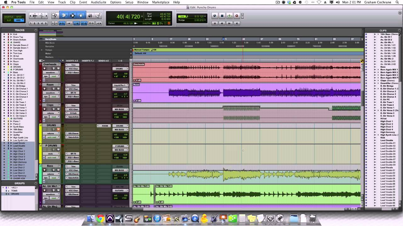 How To Get Punchy Drums In The Mix - TheRecordingRevolution.com