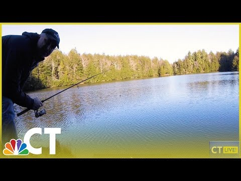 Social Distance Fishing With CT LIVE! | NBC Connecticut