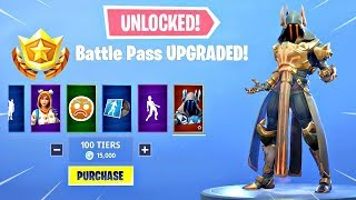 *GLITCH* How To Get MAX Tiers (Tier 100) In Fortnite Season 7 For FREE!! - Max Battle Pass