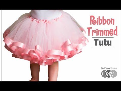 How To Make Ribbon Trimmed Tutu