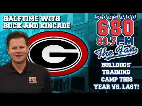 Buck Belue hung out with the Dawgs today. What did he learn?