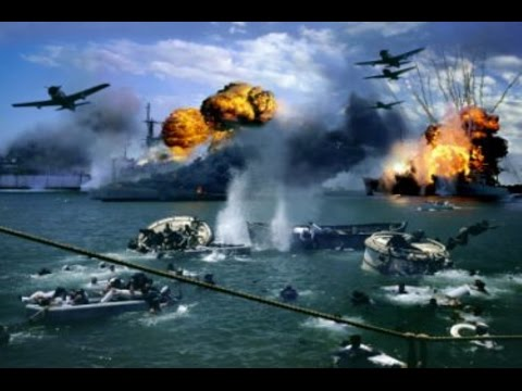 Documentários da Segunda Guerra - Ataque Japonês - Pearl Harbor - HD Dublado