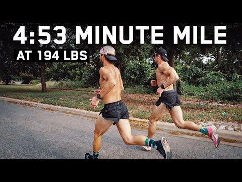 1-MILE RUN PR   4:53 At 194 Pounds