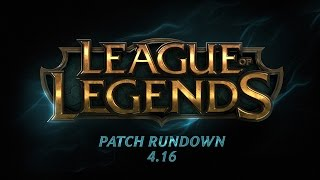 Patch Rundown – 4.16