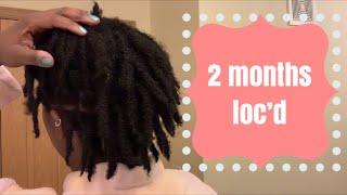 2 Month Starter Loc Update | Documenting My Loc Journey | Naomi Onlae