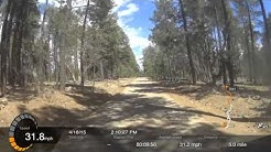 04.18.2015 Happy Jack, AZ to Mogollon Rim Camp Spot Full video