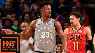 Philadelphia Sixers vs Atlanta Hawks Full Game Highlights | 01/11/2019 NBA Season