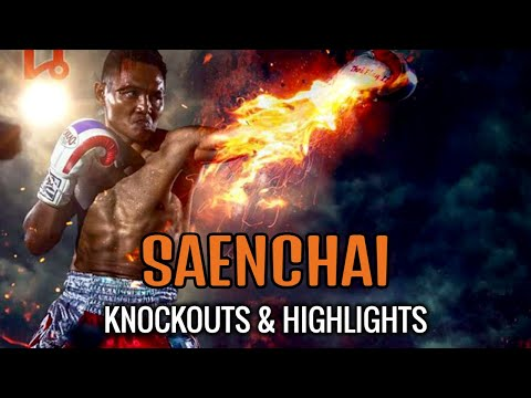 Muay Thai Master Vs Foreign Challengers (Saenchai Knockouts & Highlights) | แสนชัย | มวยไทย