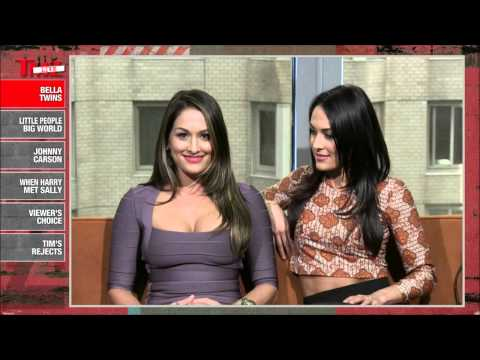 The Bella Twins on TMZ Live - March 13th, 2013