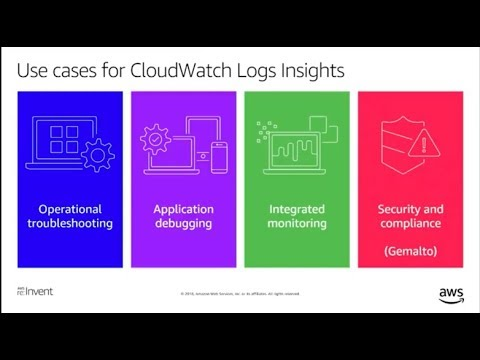 AWS re:Invent 2018: CloudWatch Logs Insights Customer Use Case