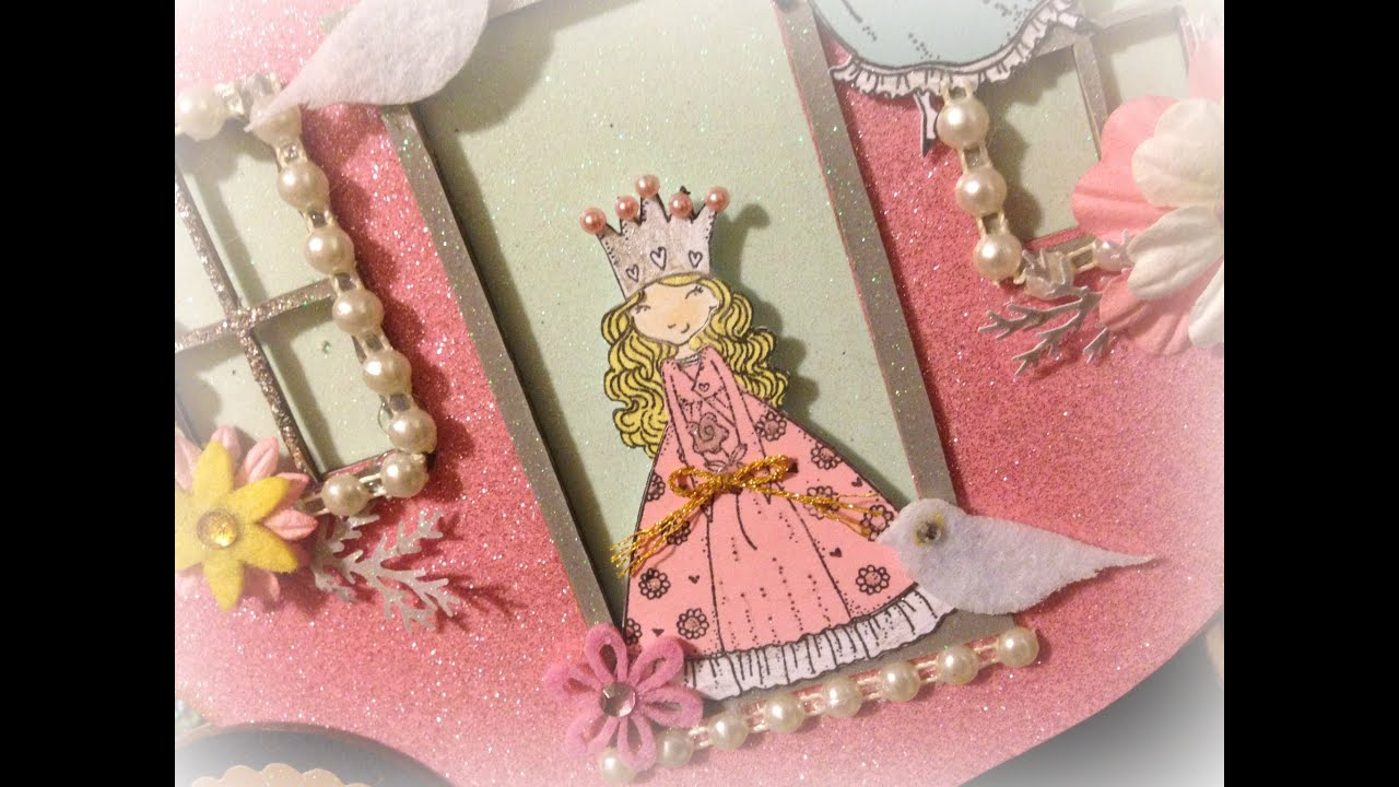 SaCrafter\'s Princess Carriage Mini Album Process Video Part 1 of 4 ...