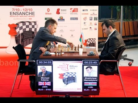 "Ajedrez Bilbao Masters 2013 - ""Juego de tronos"" (parte 1)"