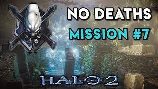 Halo 2 LEGENDARY NO DEATHS Walkthrough ► Mission #7 Regret