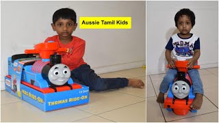 Thomas The Tank Engine Foot To Floor Ride-on Kids car review!