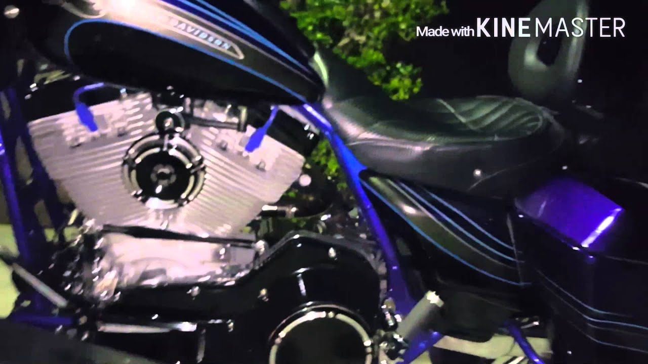 Upgrading spark plug wires on my road glide - YouTube