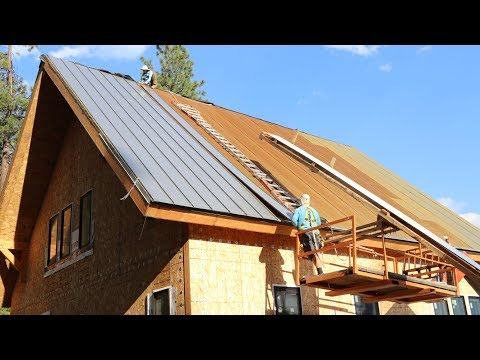 WE'RE UNSTOPPABLE NOW! (DIY Metal Roofing Install)