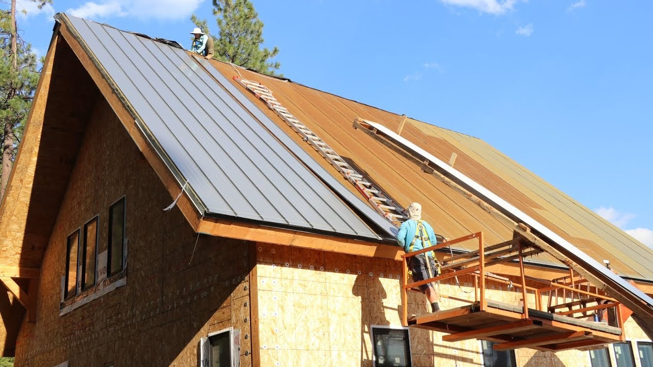 We Re Unstoppable Now Diy Metal Roofing Install