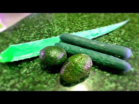 Aloe, Cucumber & Avocado Cold Processed CP Soap With Recipe