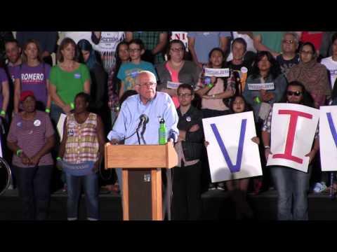 Bernie Sanders in Tucson: Citizens United & Money in Politics