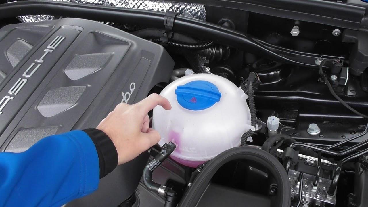medium resolution of engine coolant location porsche macan youtubeengine coolant location porsche macan