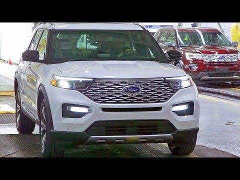 2020 Ford Explorer – ASSEMBLY PLANT – American SUV Factory