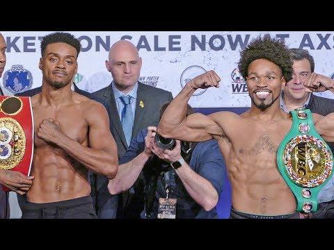 Errol Spence Jr vs. Shawn Porter FULL WEIGH IN & FINAL FACE OFF | Fox PBC Boxing