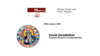 Harriet Scott & Chris Rogers interview David Goodfellow of The Kindness Offnensive
