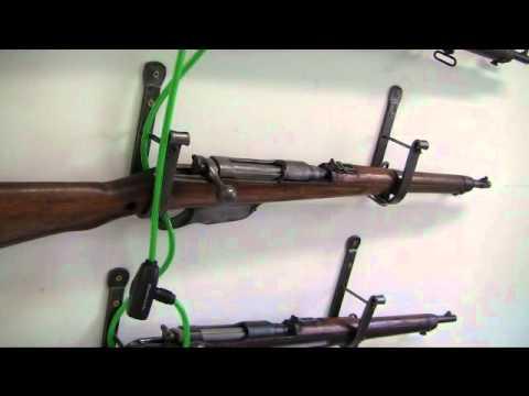 Secure Gun Hooks Racks Youtube