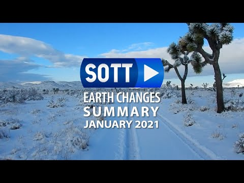 SOTT Earth Changes Summary - January 2021: Extreme Weather, Planetary Upheaval, Meteor Fireballs