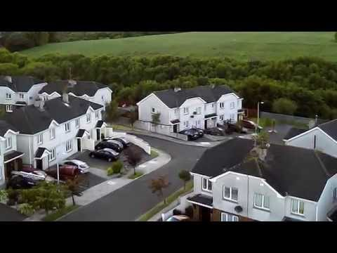 cluain ard arklow from the air :)