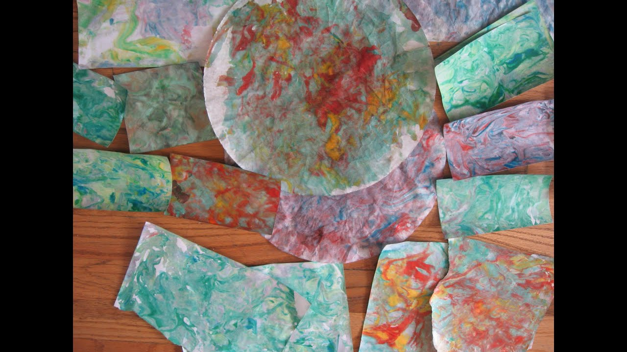 how to make marble paper with shaving cream diy paper marbling tutorial inspired by. Black Bedroom Furniture Sets. Home Design Ideas