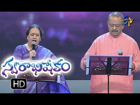 Maavi Chiguru Song   S. P.Sailaja,SP Balu Performance   Swarabhishekam  11th  Sept 2016  ETV  Telugu